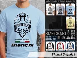 T shirt Bike Bianchi Many Color & Design Option - $10.99+