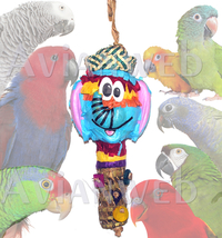 Foraging Basket Bird Toy Pinata - The FUNNEST Bird Toy EVER! - £15.38 GBP