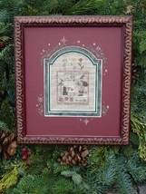 Jingle christmas winter holiday cross stitch kit Shepherd's Bush - $20.00
