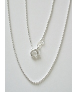 """Sterling Silver Faceted Bead Chain 30"""" - 1mm - $30.00"""