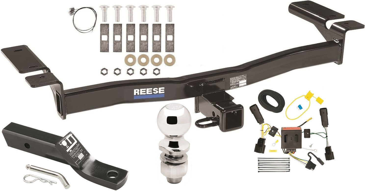 COMPLETE TRAILER HITCH PACKAGE W/ WIRING KIT FOR 2011-2015 LINCOLN MKX  CLASS III - $223.69