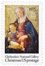 1975 10c Christmas Madonna Scott 1579 Mint F/VF NH - $0.99