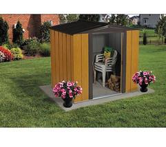 Arrow Woodlake 6' x 5' Shed Kit WL65 Lawn Garden Home Storage Building T... - $442.50