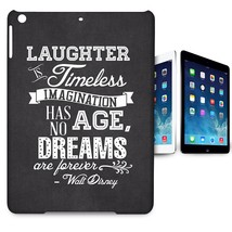 Black Laughter is Timeless Walt Disney Quote Tablet Case for Apple iPad ... - $26.99+