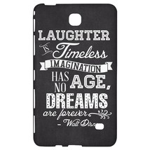 Black Laughter is Timeless Walt Disney Quote Tablet Case for Samsung Gal... - $24.99+