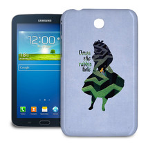 Alice in Wonderland Down The Rabbit Hole Quote Tablet Case for Samsung G... - $24.99+