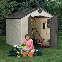 Lifetime Outdoor Storage Shed Window Shelving Patio Yard Lawn Storage To... - $1,271.72