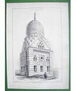 ARCHITECTURE PRINT : EGYPT Cairo Mausoleum El S... - $33.66