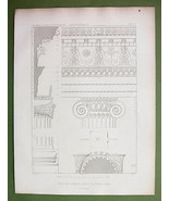 ARCHITECTURE PRINT : Turkey Temple of Jupiter a... - $33.66