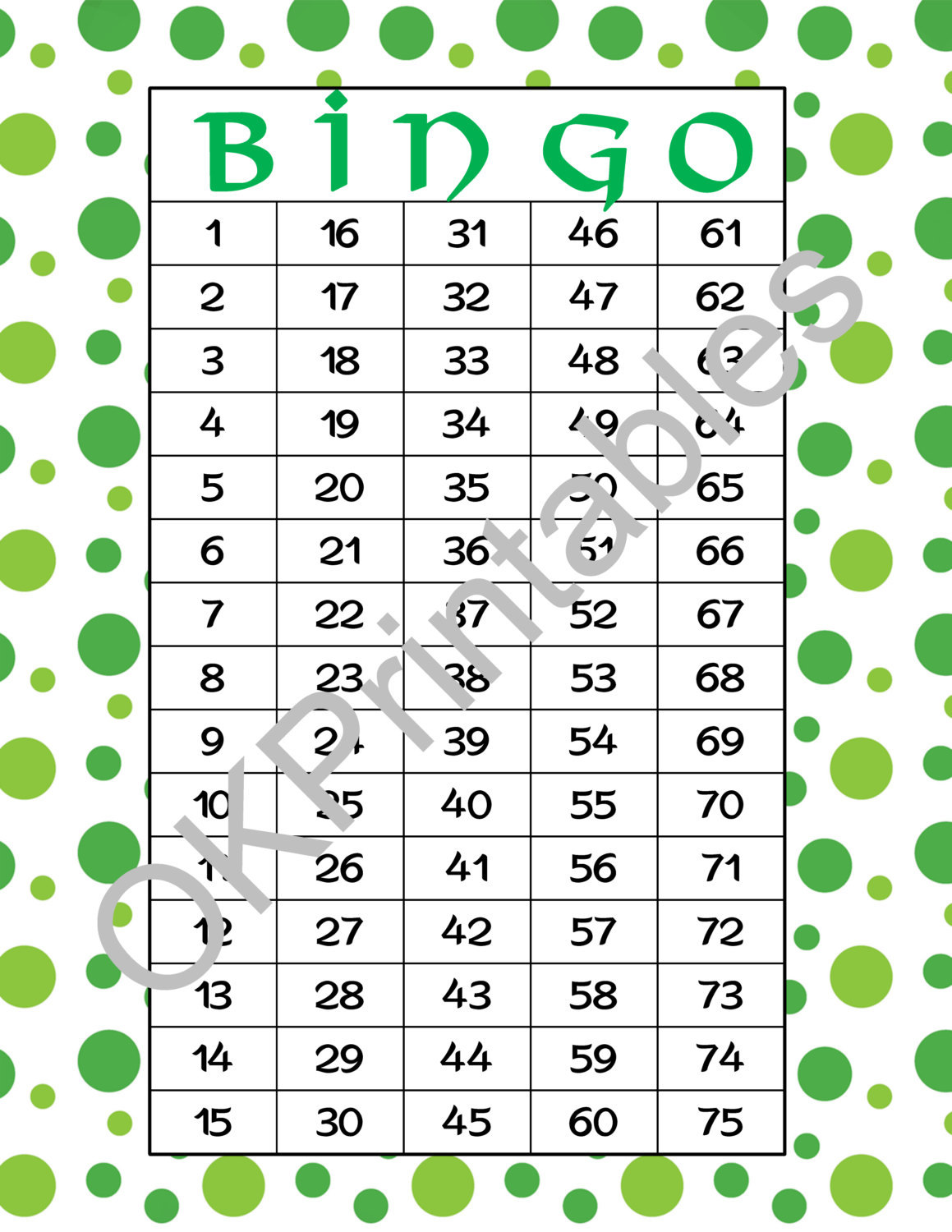 photograph relating to St Patrick's Day Bingo Printable named 30 Joyful St. Patricks Working day Bingo playing cards - and 50 identical goods