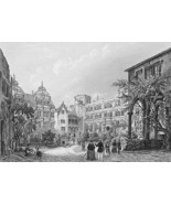 GERMANY Heidelberg Castle Courtyard !! Antique ... - $17.82