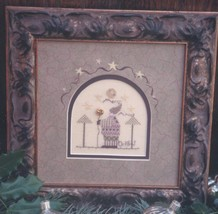 Merry and Bright christmas winter holiday cross stitch kit Shepherd's Bush - $26.00