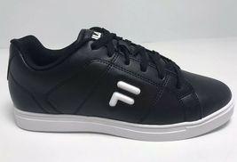 Men's Fila Charleston Black | White Fashion Sneakers  - $69.00