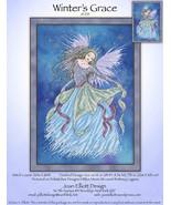 Winter's Grace JE235 christmas cross stitch chart Joan Elliott Designs - $16.00