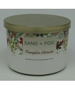 Sand + Fog Pumpkin Harvest 2 wick Candle Net Wt 12 oz  - $19.59