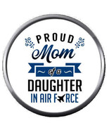 Daughter In USAF Air Force Support US Military 18MM - 20MM Snap Jewelry ... - $5.95