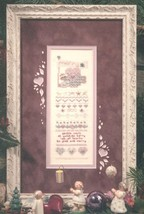 Merry Souls christmas winter holiday cross stitch kit Shepherd's Bush - $20.00