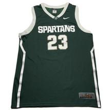Men's Michigan State Nike Elite Basketball Jersey #23 Draymond Green Siz... - $49.43