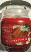 Yankee Candle Holiday Cinnamon 7 Ounce Jar - $24.75