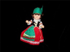 "Story Book Doll 8 1/2"" Vinyl  From Holland 50's... - $9.99"
