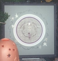 Peace christmas winter holiday cross stitch kit Shepherd's Bush - $16.00
