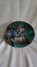 """Knowles China Collector Plate -  Limited Edition """"Peek-A-Whoo: Screech O... - $10.95"""