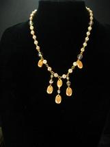 Vintage Signed Pearl wedding Necklace Original tag price 65.00  Ivory 18... - $45.00