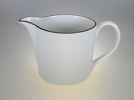 Royal Worcester Classic Black Large Creamer/Milk Jug - $22.72