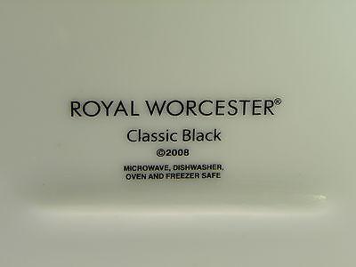 Royal Worcester Classic Black Oval Baker image 2