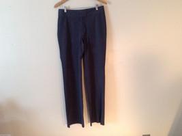 Banana Republic Women's Size 8 Dress Pants Harrison Stretch Boot-Leg Dark Gray