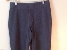 Banana Republic Women's Size 8 Dress Pants Harrison Stretch Boot-Leg Dark Gray image 2