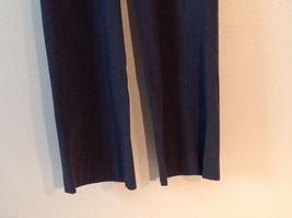 Banana Republic Women's Size 8 Dress Pants Harrison Stretch Boot-Leg Dark Gray image 3