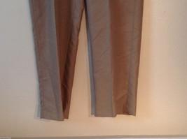 Croft & Barrow Men's Size L 38/34 Dress Pants Slacks Straight Leg in Beige Brown image 3