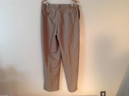 Croft & Barrow Men's Size L 38/34 Dress Pants Slacks Straight Leg in Beige Brown image 4