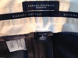 Banana Republic Women's Size 8 Dress Pants Harrison Stretch Boot-Leg Dark Gray image 5
