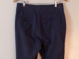 Banana Republic Women's Size 8 Dress Pants Harrison Stretch Boot-Leg Dark Gray image 4