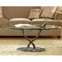 Palm Beach Tree Coffee Table Coastal Nautical Ocean Tropical Nature - $1,002.96 CAD