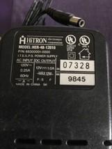 GENUINE HITRON HER-48-12010 683000001-0000 AC ADAPTER POWER SUPPLY 12V 1... - $12.19