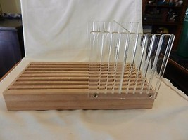 Wood and Acrylic Bread Loaf Toast Slicer Cutting Guide - $31.67