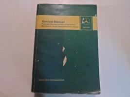 1968 Mercedes Benz 114 115 Maintenance Tuning Service Manual VOLUME 1 OE... - $34.64