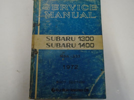 1972 Subaru 1300 1400 Body Service Repair Shop Manual FACTORY OEM BOOK Used - $25.69
