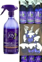 1 Bottle Joy Mangano Miracle Clean MIRACLECLEAN Spray Cleaner Discontinu... - $24.97