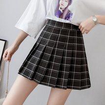 *NEW* * Grid Pleated Mini skirt  Hot style High Waist Chic Skirt - $27.00+