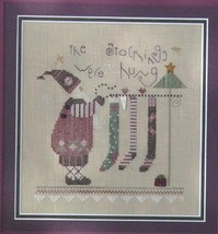 The Stockings christmas winter holiday cross stitch kit Shepherd's Bush - $30.00