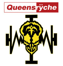 Queensryche T shirt 80s metal Operation Mind Crime rock 100% cotton tee shirt image 2