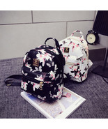 Women Backpack 2016 Hot Sale Fashion Causal Floral Printing Backpacks Le... - $15.00