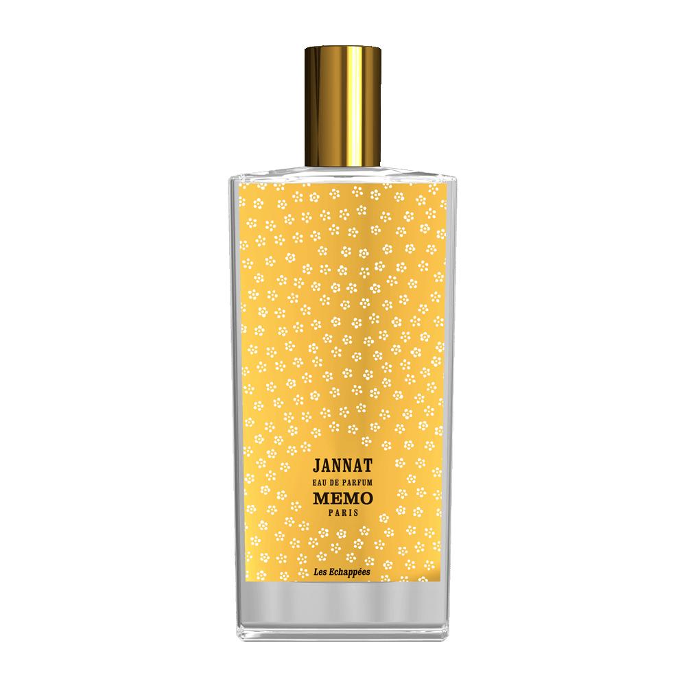 JANNAT by MEMO 5ML TRAVEL SPRAY Perfume PETIT GRAIN NEROLI FRANGIPANI