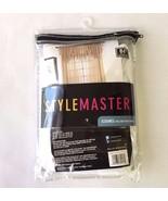 "Stylemaster Elegance Sheer Voile Rod Pocket Panel White 60"" x 84"" - $12.95"