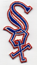 """Boston Red Sox MLB Cut-Out Logo 5 1/4"""" Tall Embroidered Patch NOS - $4.00"""