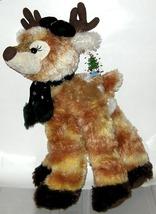 1/2 Price! Huge Plush Reindeer Fawn Christmas New w Tag - $6.00